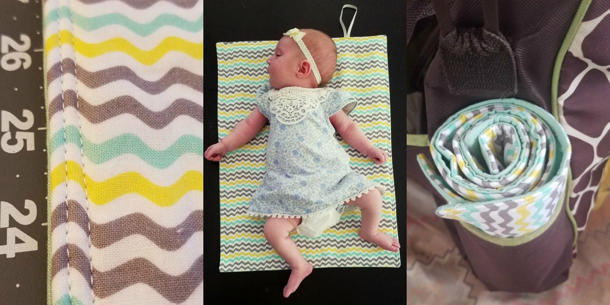 30 Minute DIY Roll-Up Changing Pad